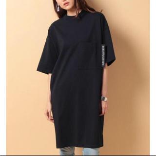 ビューティフルピープル(beautiful people)のbeautiful people 18SS  big T-dress ビッグT(Tシャツ(半袖/袖なし))