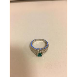 エメラルド プラチナ(リング(指輪))