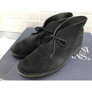チャーチ(Church's)の 美品⭐️GRENSON  英国製 vibramソール スエード チャッカブーツ(ブーツ)