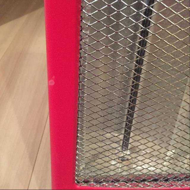 Francfranc(フランフラン)のフランフラン♡ミニカーボンヒーター スマホ/家電/カメラの冷暖房/空調(電気ヒーター)の商品写真