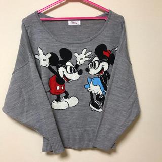 ディズニー(Disney)のミッキーミニー ドルマンニット(ニット/セーター)