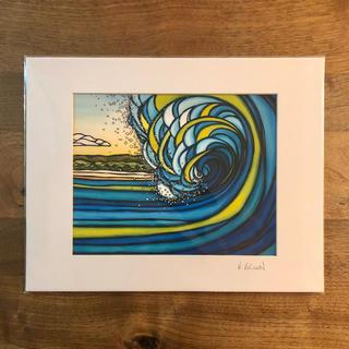 ロンハーマン(Ron Herman)のヘザーブラウン プリントアート/Outer Reef(絵画/タペストリー)