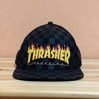 スラッシャー(THRASHER)のVANS × THRASHER メッシュキャップ ヴァンズ スラッシャー(キャップ)