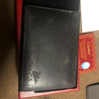 カルティエ(Cartier)のカルティエ パシャ カードケース ブラック(名刺入れ/定期入れ)