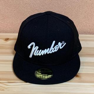 ナンバーナイン(NUMBER (N)INE)のNUMBER (N)INE × NEW ERA 59FIFTY 7 1/2(キャップ)