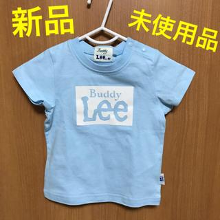 バディーリー(Buddy Lee)のベビー服 男の子 80 Buddy Lee Tシャツ 水色(Tシャツ)