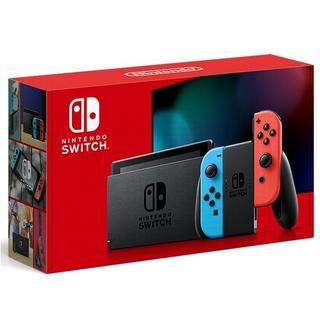 ニンテンドースイッチ(Nintendo Switch)のNintendo Switch 本体 ネオン 新モデル 国内正規品(家庭用ゲーム機本体)