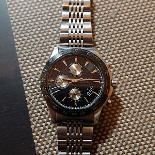 グッチ(Gucci)のグッチGUCCIタイムレスクロノグラフ  ブラック文字盤オートマ自動巻きウォッチ(腕時計(デジタル))