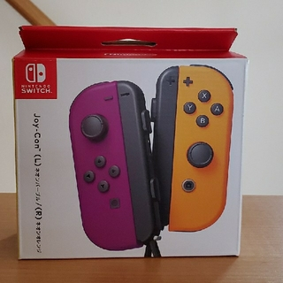 ニンテンドースイッチ(Nintendo Switch)のタイムセール!Joy-Con ネオンパープル ネオンオレンジ(その他)