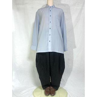 グリモワール(Grimoire)のノーカラーシャツ マオカラー バンドカラー 長袖 adam&eve(シャツ)