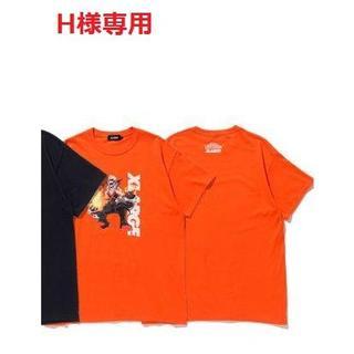 エクストララージ(XLARGE)のH様 専用:XLARGE TEE BAKUGO オレンジのXL 1枚(Tシャツ/カットソー(半袖/袖なし))