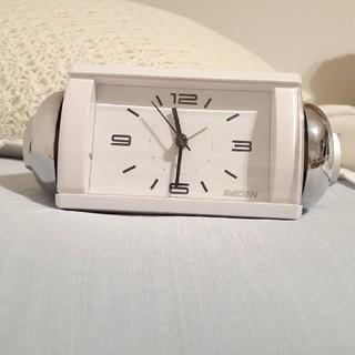 セイコー(SEIKO)のRAIDEN (ライデン) 目覚まし時計 クオーツ 大音量ベル音(置時計)