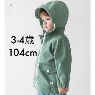 【ZARA BABY KIDS】ミッキーマウス レインコート ラバー仕上げコート