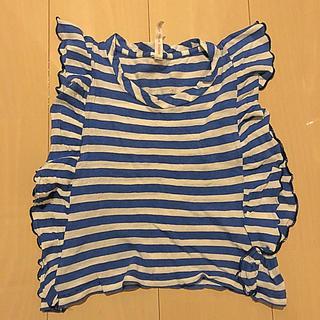 ニードルワークスーン(NEEDLE WORK SOON)のニードルワークスーン フリルタンクトップ 110 (Tシャツ/カットソー)