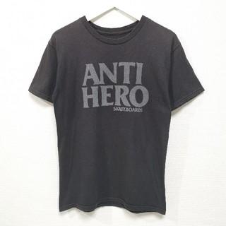 アンチヒーロー(ANTIHERO)のS ANTI HERO アンチヒーロー Tシャツ アンタイヒーロー 黒(Tシャツ/カットソー(半袖/袖なし))