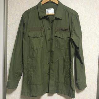 ユナイテッドアローズ(UNITED ARROWS)のmonkey time カーキ アーミー ARMY シャツ ジャケット ポケット(ミリタリージャケット)