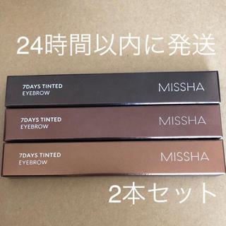 ミシャ(MISSHA)のセピアブラウン 4本セット(アイブロウペンシル)
