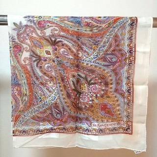 イヴサンローランボーテ(Yves Saint Laurent Beaute)のイヴ・サンローラン 薄手大判スカーフ (バンダナ/スカーフ)