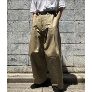 サンシー(SUNSEA)のシンヤコズカ バギーパンツ みちざね様専用(ワークパンツ/カーゴパンツ)