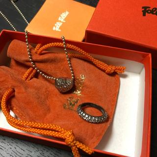 フォリフォリ(Folli Follie)の❤️フォリフォリ ネックレス・リングセット❤️(リング(指輪))