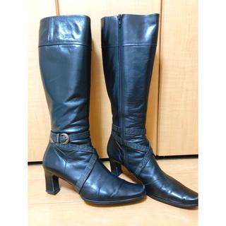 エレガンスヒミコ(elegance卑弥呼)のelegance卑弥呼 ロングブーツ 黒 25.5cm(ブーツ)