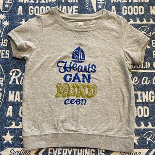 コーエン(coen)のグレーTシャツ 110センチ coen(Tシャツ/カットソー)