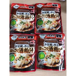 アジノモト(味の素)の今夜はてづくり気分 お豆腐で作るほっこり酒粕汁 4袋(レトルト食品)