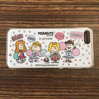 ピーナッツ(PEANUTS)のPEANUTS × in private iPhoneケース(iPhoneケース)