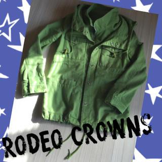ロデオクラウンズワイドボウル(RODEO CROWNS WIDE BOWL)のロデオ ミニタリーコート(ミリタリージャケット)