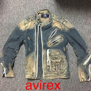 アヴィレックス(AVIREX)のavirex ライダーズジャケット(ライダースジャケット)
