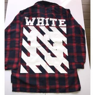 オフホワイト(OFF-WHITE)のOFF WHITE  オフホワイト 女性用シャツ 赤×黒チェック(シャツ/ブラウス(長袖/七分))