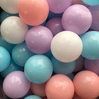 《新品未使用》カラーボール 100個 パステルカラー(ボール)
