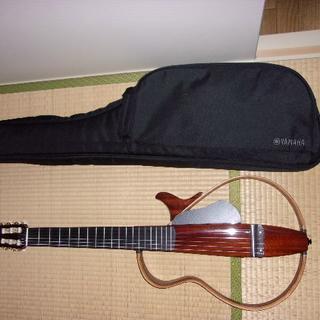 ヤマハ(ヤマハ)のヤマハ・サイレントギター SLG200NM NT 極上中古美品 値下げおまけつき(クラシックギター)