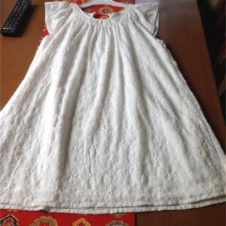ザラ(ZARA)の結婚式に一度使用 着丈短めかわゆいです。 (ドレス/フォーマル)