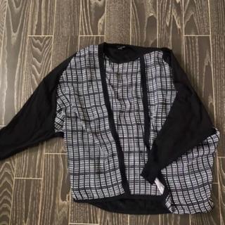 エモダ(EMODA)のEMODA カーディガン シャツ 7部丈 セット(カーディガン)