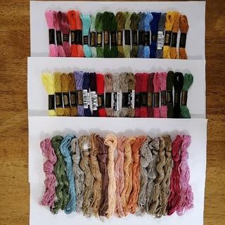 オリンパス(OLYMPUS)の刺繍糸 OLYMPUS★57本★set  オリムパス 25番 刺しゅう糸(生地/糸)