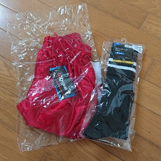 ティゴラ(TIGORA)の【新品】ハーフパンツ 靴下 サッカーウェア 140cm(ウェア)
