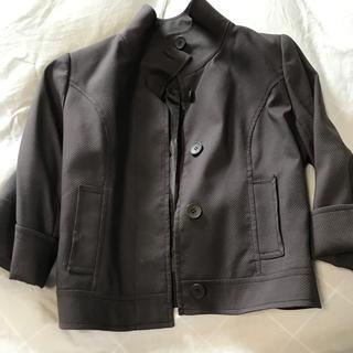 アルファキュービック(ALPHA CUBIC)のレディス  ジャケット 七分袖(ノーカラージャケット)