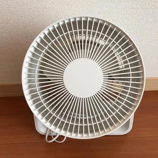 ムジルシリョウヒン(MUJI (無印良品))の美品♡ 無印良品 サーキュレーター 低騒音ファン ホワイト(サーキュレーター)