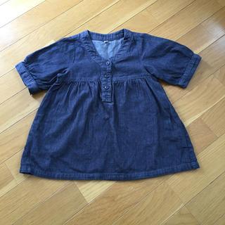 ムジルシリョウヒン(MUJI (無印良品))の[専用]女の子チュニック ほか計2点(Tシャツ/カットソー)