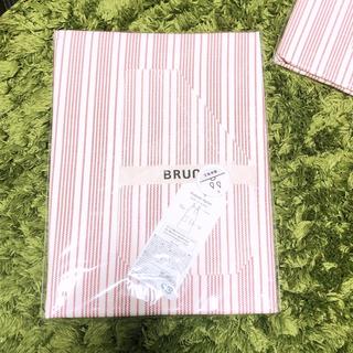 ブルーノマリ(BRUNOMAGLI)の【BRUNO】【新品.未使用.未開封】プルオーバーエプロン レッド(その他)