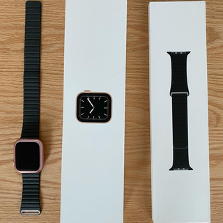 アップルウォッチ(Apple Watch)のApple Watch Series 5 44mm GPS(腕時計(デジタル))
