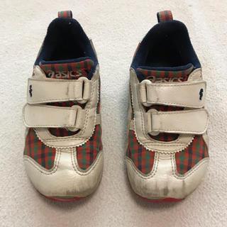 ファミリア(familiar)のfamiliar ASICS スニーカー シューズ 靴   サイズ16.5cm(スニーカー)