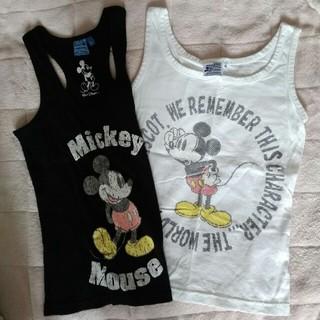 ディズニー(Disney)のミッキー タンクトップ 2枚(タンクトップ)