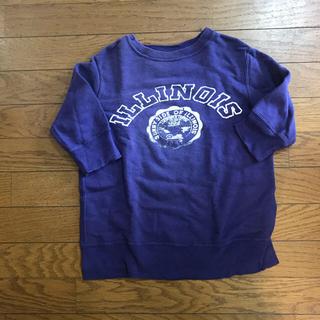 ゴートゥーハリウッド(GO TO HOLLYWOOD)のgo to hollywood トレーナーチュニック 100センチ(Tシャツ/カットソー)