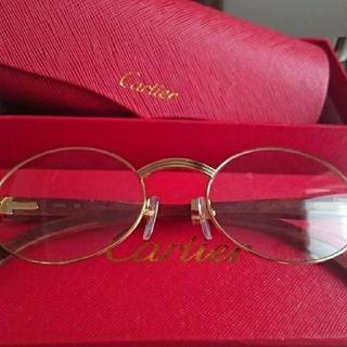 カルティエ(Cartier)のカルティエ メガネ(サングラス/メガネ)