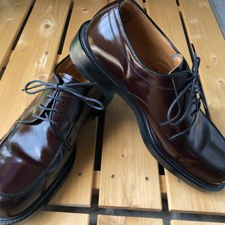 マドラス(madras)の【madras】幅広ブラウン革靴(ドレス/ビジネス)