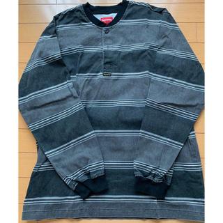 シュプリーム(Supreme)のsupreme ロングTシャツ(Tシャツ/カットソー(七分/長袖))