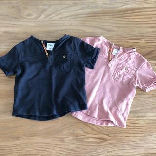 ザラ(ZARA)のZARA baby カットソー Tシャツ9〜12m 80cm(シャツ/カットソー)
