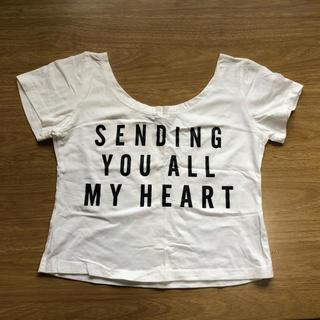 アンズ(ANZU)のへそ出しTシャツ(半袖)(Tシャツ(半袖/袖なし))